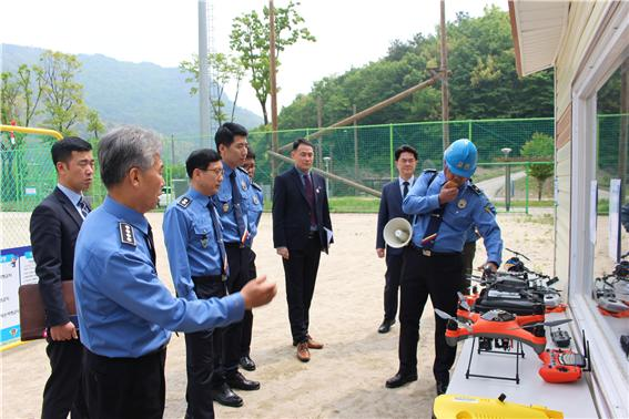 해양경찰교육원, 지역 민간드론 교육기관과 업무협약 체결